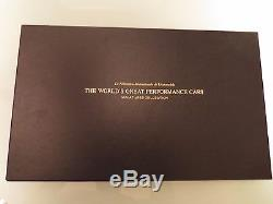 Franklin Mint The Worlds Great Performance Cars 100 Silver Gold Ingots Set