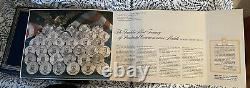 Franklin Mint Treasury Of Presidential Commemorative Medals Amex Edition