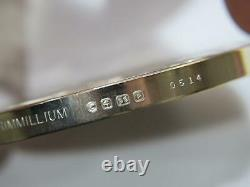 Franklin Mint Trimmillium (silver-gold-platinum) 2000 Art Calendar Medal