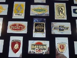 Franklin Mint automobile emblem Ingots sterling silver
