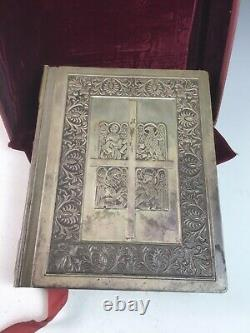 Franklin Mint sterling silver cover King James Version Holy Bible