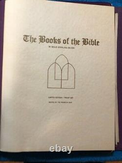 Franklin Mint sterling silver set, BOOKS OF THE BIBLE. (66) 500 gn bars. 68.75oz