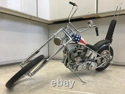 Franklin mint 110 1969 Harley Davidson Easy rider chopper Captain America bike