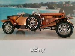 Franklin mint 124 1921 Rolls-Royce silver ghost classic vintage Rare Superb