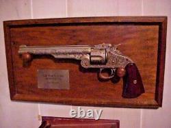 Franklin mint THE WYATT EARP 44 REVOLVER Like used at OK Corral 1881