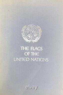 Full Set 1978 franklin mint united nations 142 flags silver mini ingots