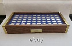 Great Sailing Ships Of History Franklin Mint Mini Silver Ingot Set 50 Bars