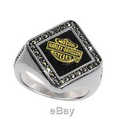 Harley-Davidson Ladies Silver Forever Ring NEW
