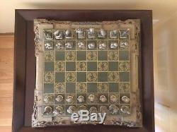 Lord of the Rings Chess Set Franklin Mint (No Box)