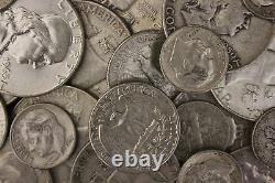 MAKE OFFER 4 Standard Ounces 90% Silver Junk Coin Franklin Roosevelt Washington