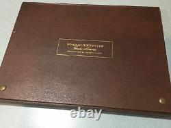 Norman Rockwell 1973 Fondest Memories 10 Ingots, 31 Troy Ounces Sterling Silver
