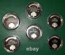 Norman Rockwell The Official Girl Scout Medals Sterling Silver Franklin Mint