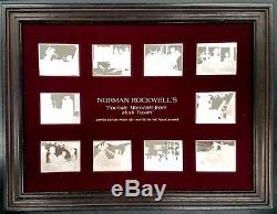 Norman Rockwell's Favorite Moments from Mark Twain, Franklin Mint Ingots withframe