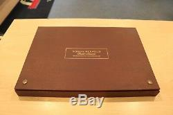 Norman Rockwell's Fondest Memories 1st Edition Proof Set Solid Sterling Silver