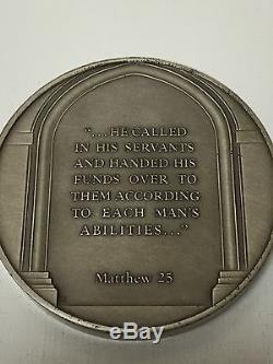 Parables of Jesus Medal Set- Pietro Montana Franklin Mint Sterling SIlver