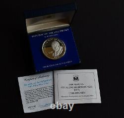 Philippines Silver Proof 1981 Pilipinas 50 Piso Pope In Original Box Ultra Rare
