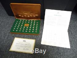 Pro Football Immortals Mini Coin Collection Sterling Silver. 925 Franklin Mint