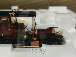 RARE Franklin Mint 124 1908 Rolls-Royce Silver Ghost Open Drive Limo LE 1500