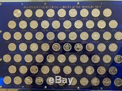 Rare 1966 Franklin Mint $1 72 Piece 40% Silver Proof Set Tokens Casino Chip Nv
