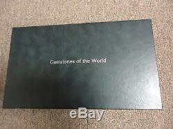 Rare Complete Set 63 Sterling Silver Franklin Mint Gemstones Of The World Box