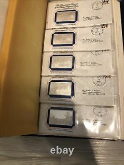 Rare! Complete Set of 70 Official Bicentennial Silver Ingots Franklin Mint