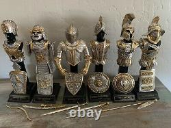 Rare Franklin Mint Armour Through The Ages Collection- Set of 6