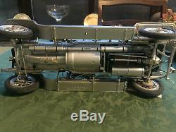 Rare Franklin Mint Rolls Royce Silver Ghost 112 Scale Connoisseur Edition