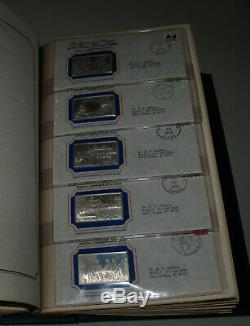 Rare Full Set of 70 Official Bicentennial Ingots issued by the Franklin Mint