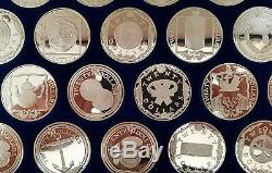 SILVER COINS 925. Coins of the Caribbean 25 PROOF COINS BULLION TREASURE