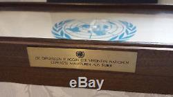 Silberbarren Franklin Mint Die offiziellen Flaggen der vereinten Nation Silber