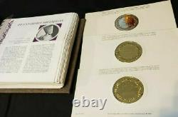 Sterling 925 Silver Gold Coins 100 Greatest Masterpiece Franklin Mint collection