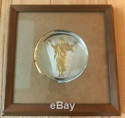 Sterling Silver Franklin Mint 1973 The Resurrection of Jesus Christ 10 troy oz