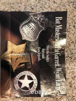 Sterling Silver Franklin Mint Great Western Law Men Badges Set Of 12