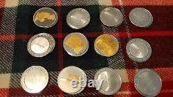 Sterling Silver Scrap Lot 26.4 Ozs, Franklin Mint 24K Plate
