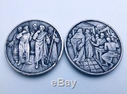 The Calling of the Apostles (LA CHIAMATA DEGLI APOSTOLI) Franklin Mint 12 Silver