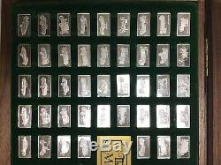 The Centennial Car Mini-Ingot Collection. 925 Sterling Silver with book