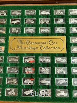 The Franklin Mint 1975 Silver Mini Ingot CENTENNIAL CAR COLLECTION
