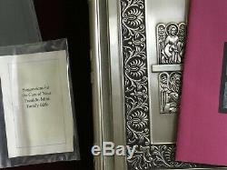 The Franklin Mint Family Bible, King James Version, Sterling Silver Cover