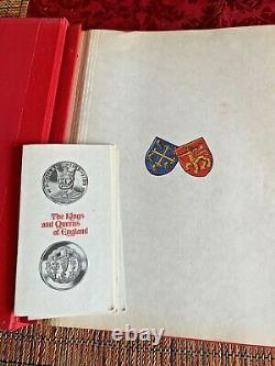 The Kings and Queens of England 1st Edition Sterling Silver Proof Set 43 coins