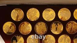 The Life of Christ (25) 24 KT Gold Plated Sterling Silver Metals