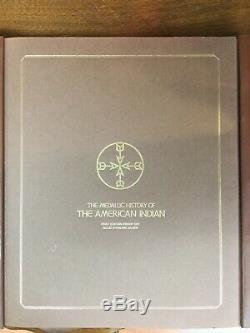 The Medallic History Of The American Indian Franklin Mint. Full Set+info Tags