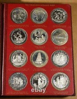 The Thomason Medallic Bible Franklin Mint Sterling Silver 108 Medals
