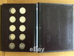 Ultra Rare GENIUS of MICHAELANGELO comp SET of 60 sterling silver coins