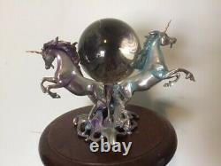 Unicorn of the new age Franklin Mint silver