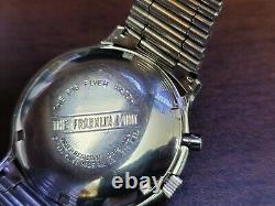 Vintage 1988 The Franklin Mint F16 Flyer Watch Men's Automatic Chronograph Watch