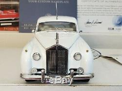 Wedding White 1955 Rolls Royce Silver Cloud I Ltd Ed #130 Franklin Mint 124